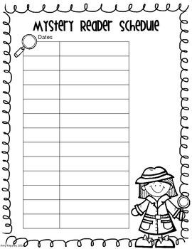 Mystery Reader Kit