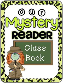 Mystery Reader Materials Pack