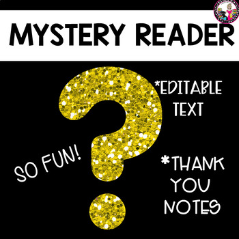 Mystery Reader Program for Parents and Staff!!
