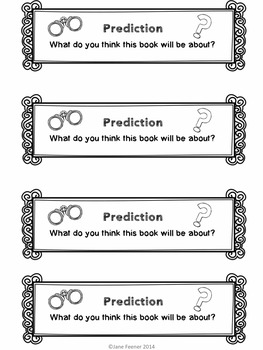 Mystery Reader Response Prompts