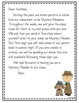 Mystery Reader Starter Pack