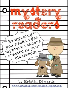 Mystery Reader Teacher Packet