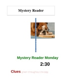 Mystery Reader advertisement