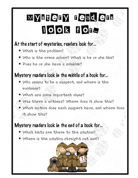 Mystery Readers Look for Chart