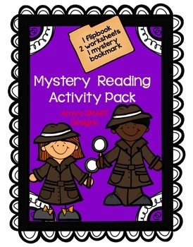 Mystery Reading Activity Pack