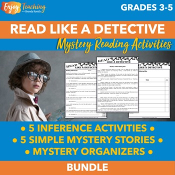 Mystery Reading Passages - Inference Activities and Short Mystery Stories