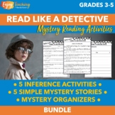 Mystery Reading Passages   5 Inference Activities and 5 Sh