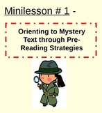 Mystery Reading Unit Powerpoint