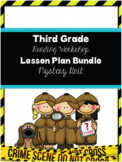 TC Mystery Reading Workshop 3rd Grade Lesson Plan Bundle
