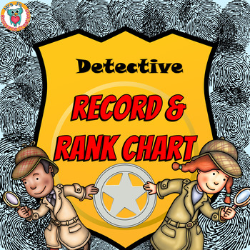 Mystery Record & Rank Chart - Fun Motivator!