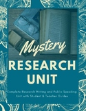 Mystery Research Unit
