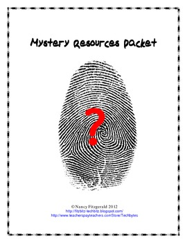 Mystery Resources Packet