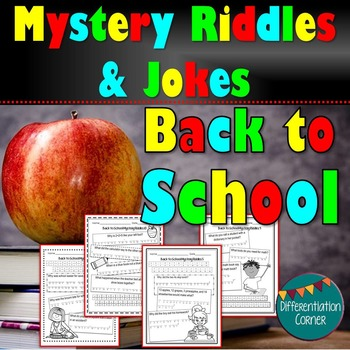 Mystery Riddles Back To School