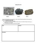 Mystery Rock Claim-Evidence-Reasoning