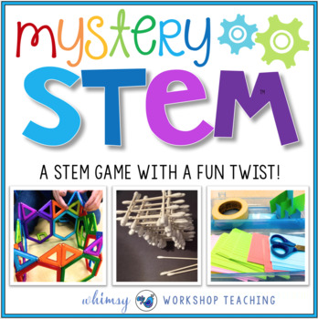 Mystery STEM - A STEM Game with a Fun TWIST!