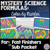 Mystery Science Formulas Color by Number