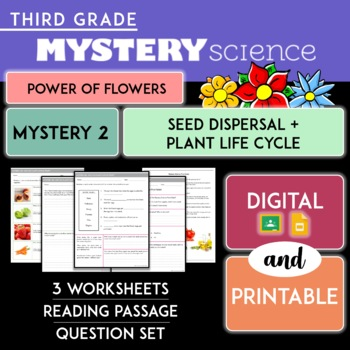 Mystery Science Kit | Grade 3- Mystery 2-Seed Dispersal Plant Life Cycle Digital