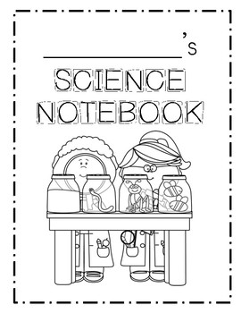 Mystery Science Notebook or Composition Book COVER