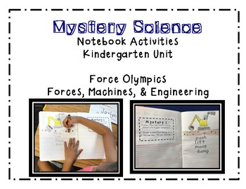 Mystery Science Unit 1 Force: Kindergarten
