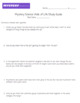 Mystery Science Web of Life Unit Assessment Study Guide