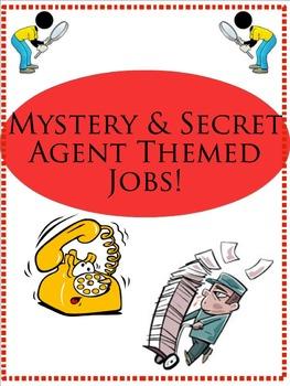 Mystery & Secret Agent Theme Jobs
