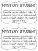 Mystery / Secret Student Behavior Awards