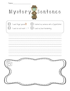 Mystery Sentence