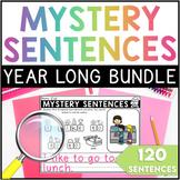 Mystery Sentences BUNDLE (Kindergarten & 1st Grade)