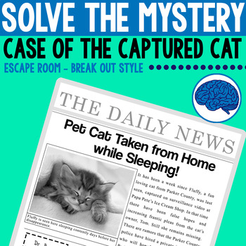 Mystery Series: Case of the Captured Cat   Reading & Thinking Skills