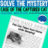 Mystery Series: Case of the Captured Cat | Reading & Think
