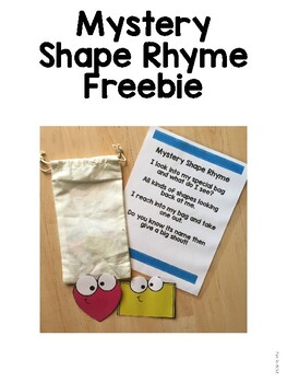Mystery Shape Rhyme