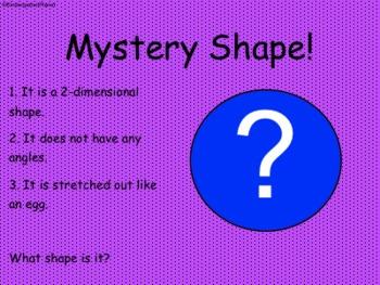 Mystery Shape - SMARTBoard activity