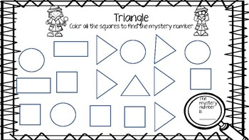 Mystery Shapes