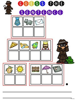 Mystery Sight Word Game for Work Stations BUNDLE