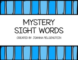 Mystery Sight Word Task Cards