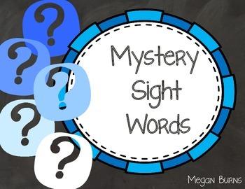 Mystery Sight Words