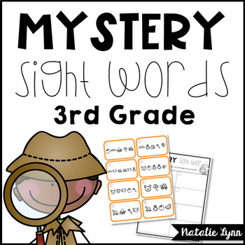 Sight Word Center 3rd Grade