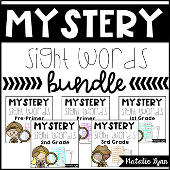 Mystery Sight Words Bundle