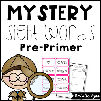 Sight Word Center Preprimer
