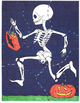 Mystery Skeleton File Folder Game - No Prep