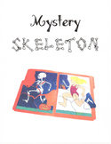 Mystery Skeleton File Folder Game - No Prep