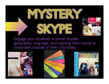 Mystery Skype Materials