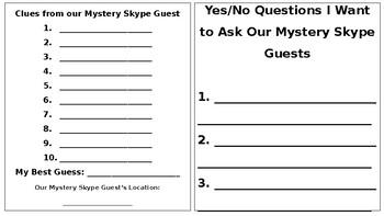 Mystery Skype Notebook
