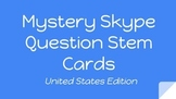 FREEBIE Mystery Skype Question Cards