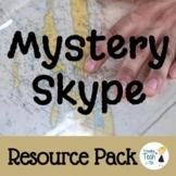 Mystery Skype Resource Pack - Student Jobs, Handouts and R