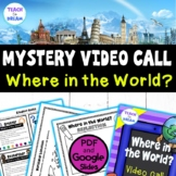 Mystery Skype: Skype for Education Student Role Cards and Worksheets