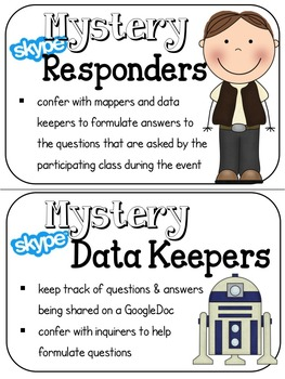Mystery Skyping Clip Chart for Your Galaxy of Learners