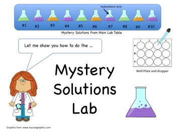Science Lab: Mystery Solutions Lab