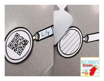 Mystery Solver: A QR Code Craftivity for Parent Teacher Conferences
