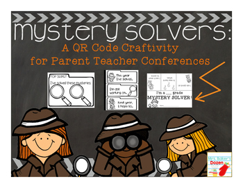 Mystery Solver: A QR Code Craftivity for Parent Teacher Co